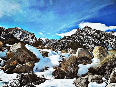 Mount Rushmore Digital Art - Mount Whitney Vista by Glenn McCarthy Art and Photography
