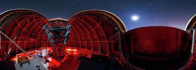 Moonlit Night Photograph - Mount Wilson Observatory by Babak Tafreshi
