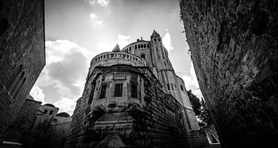 Photograph - Mount Zion Abbey by David Morefield