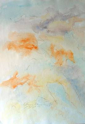 Painting - Mountain Adumbrations by Esther Newman-Cohen