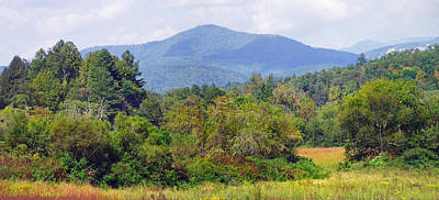 Photograph - Mountain And Valley Near Brevard by Duane McCullough