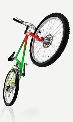 Mountain Bike Art Print by Dorling Kindersley/uig