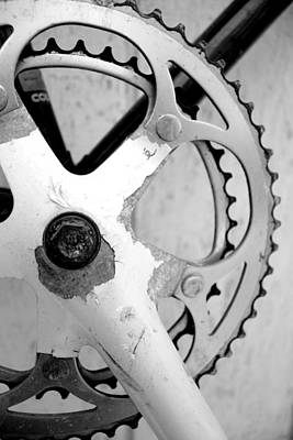 Photograph - Mountain Bike Sprocket by Gray  Artus