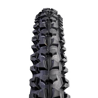 Component Photograph - Mountain Bike Tyre by Science Photo Library