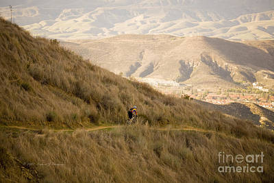Photograph - Mountain Biking by Richard J Thompson