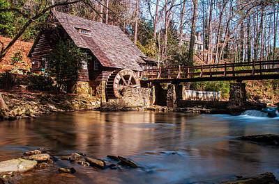 Photograph - Mountain Brook Mill by Andy Crawford