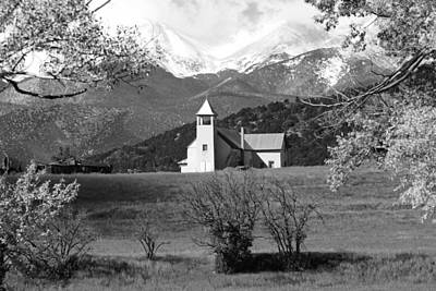 Photograph - Mountain Church by Daniel Woodrum
