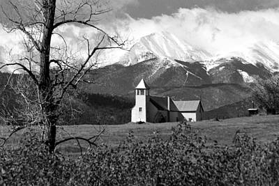 Photograph - Mountain Church No.2 by Daniel Woodrum
