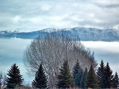 Mountain Cloud Art Print