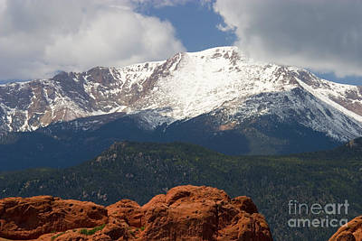 Steven Krull Royalty-Free and Rights-Managed Images - Mountain Clouds by Steven Krull