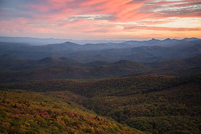 Art Print featuring the photograph Mountain Color by Serge Skiba