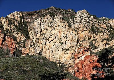 Photograph - Mountain Colors In Oak Creek by John Rizzuto