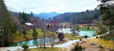 Photograph - Mountain Country Farm With Ponds by Duane McCullough