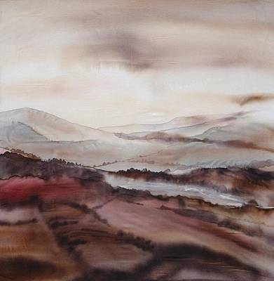 Painting - Mountain Dawn by Hazel Millington