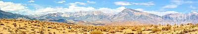 Photograph - Mountain Desert Pano by Marilyn Diaz