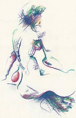 Mountain Dew Nude Art Print