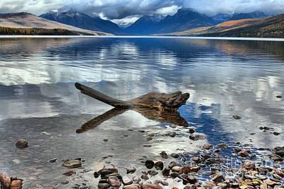 Photograph - Mountain Drift Log by Adam Jewell