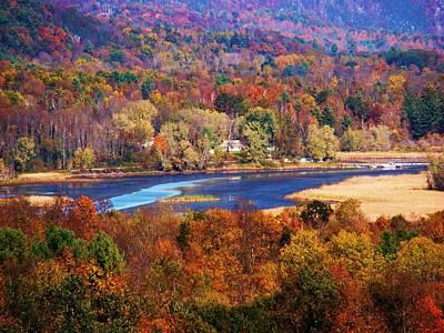 Mountain Foliage Series 009 Art Print