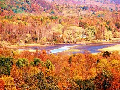 Mountain Foliage Series 010 Art Print
