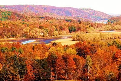 Mountain Foliage Series 023 Art Print