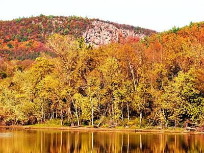 Mountain Foliage Series 068 Art Print