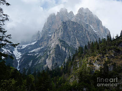 Photograph - Spring In The Brenta Dolomites by Phil Banks