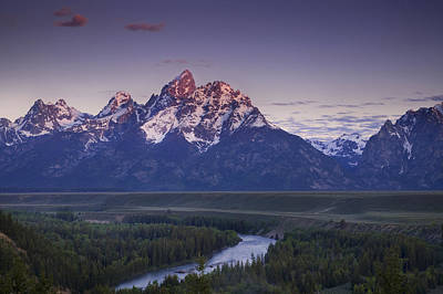 Teton Wall Art - Photograph - Mountain Glow by Andrew Soundarajan
