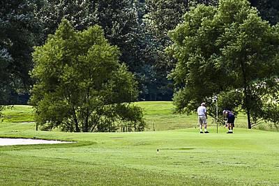 Photograph - Mountain Golf by Barry Jones