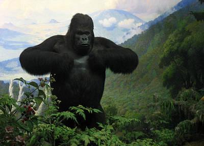 Photograph - Mountain Gorilla by RicardMN Photography