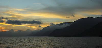 Panajachel Photograph - Mountain Grayscale by Eduardo Trejo
