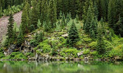Mountain Green Art Print by Adam Pender