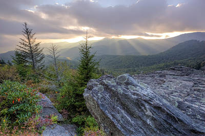 Photograph - Blue Ridge Mountains by Doug McPherson