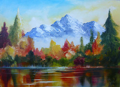 Painting - Mountain High by Patricia Ragone