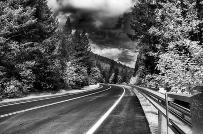 Photograph - Mountain Highway by Mick Burkey