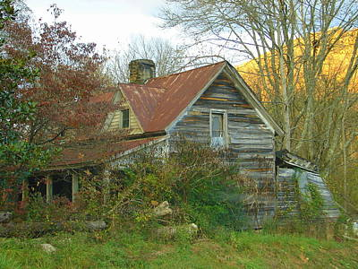 Photograph - Mountain Home by Lew Davis