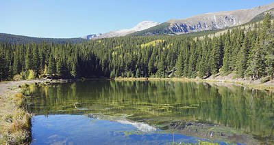 Photograph - Mountain Lake  by Ann Powell