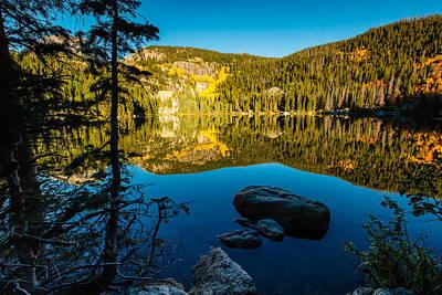 Photograph - Mountain Lake by Ben Graham