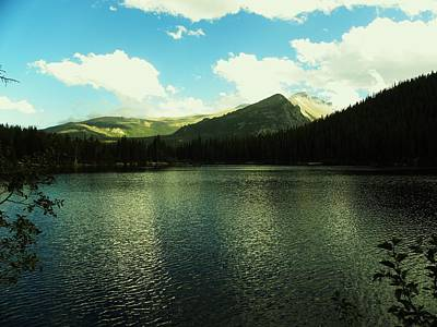 Photograph - Mountain Lake by Christian Rooney