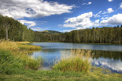Photograph - Mountain Lake by Jack Dean