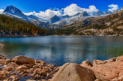 Photograph - Mountain Lake by James Hammond