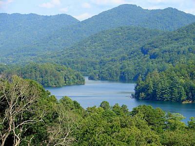 Photograph - Mountain Lake by Lew Davis