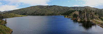 Photograph - Mountain Lake Panorama by Trent Mallett