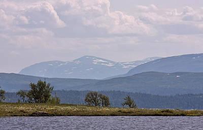 Photograph - Mountain Lake by Dreamland Media