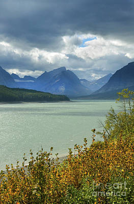 Photograph - Mountain Lake With Stormy Skies by Jill Battaglia