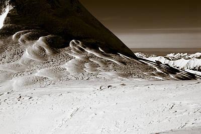 Photograph - Mountain Landscape by Frank Tschakert