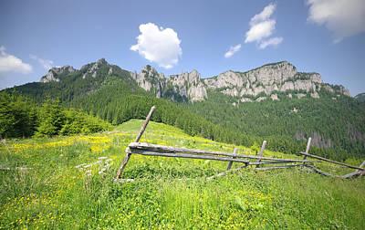 Mountain Landscape  Art Print by Ioan Panaite