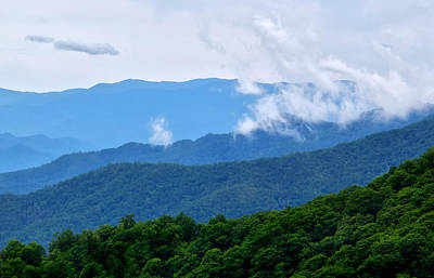 Photograph - Blue Ridge Mountains by Carolyn Derstine