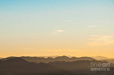 Photograph - Mountain Layers by Luis Alvarenga