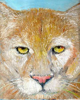 Painting - Mountain Lion by Sandra Lytch
