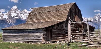 Log Cabins Photograph - Mountain Living by Dan Sproul